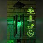 Carillon à Vent solaire illuminé changeant de couleur par SPV Lights (2 ans gratuit garantie) de la marque SPV Lights image 1 produit