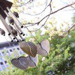Carillon à Vent Tubes en Métal Coeur Décoration pour Maison Jardin de la marque MagiDeal image 1 produit