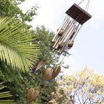 Carillon à Vent Tubes en Métal Coeur Décoration pour Maison Jardin de la marque MagiDeal image 2 produit