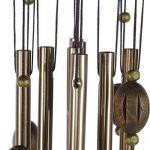 Carillon à Vent Tubes en Métal Coeur Décoration pour Maison Jardin de la marque MagiDeal image 3 produit