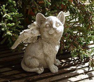 CAT Angel commémoratif de jardin Ornement pour animal domestique Statue Sculpture funéraire de la marque AMALFI image 0 produit