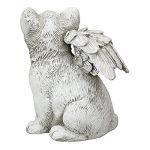 CAT Angel commémoratif de jardin Ornement pour animal domestique Statue Sculpture funéraire de la marque AMALFI image 2 produit