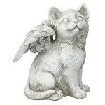 CAT Angel commémoratif de jardin Ornement pour animal domestique Statue Sculpture funéraire de la marque AMALFI image 4 produit