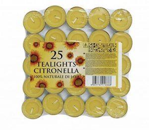 CB Imports Bougies à la citronnelle (lot de 25) de la marque CB Import image 0 produit