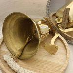 CE Hand Made Items Cloche de bateau en laiton 17,8cm, pour porte, support inclus de la marque CE Hand Made Items image 2 produit