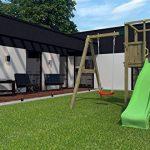 Chalet et jardin 05-F703469 Funny Toboggan Aire de Jeux en Bois Bois Naturel 234 x 328 x 240 cm de la marque Chalet et jardin image 2 produit