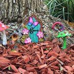 Champignon Magique Rouge Miniature pour un Jardin Féerique ou Nain Pelouse Miniature. Accessoire Fée et Nain de jardin - Fairy Garden Accessory de la marque GlitZGlam image 3 produit
