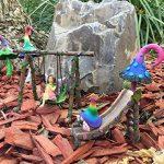 Champignon Magique Rouge Miniature pour un Jardin Féerique ou Nain Pelouse Miniature. Accessoire Fée et Nain de jardin - Fairy Garden Accessory de la marque GlitZGlam image 4 produit