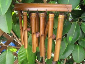 Ciffre 80 cm. Carillon à vents Son apaisant Feng Shui Bambous Vent Carillon Carillon musical W6 de la marque Ciffre image 0 produit