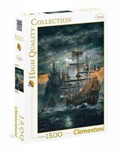 Clementoni - Puzzle - High Quality Collection - Streets Of Paris - 1500 Pièces de la marque Clementoni image 0 produit