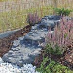 CLGarden Ensemble de flux Kit cascade chute d'eau Granit gris GFK de la marque CLGarden image 1 produit