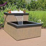 CLGarden MTWS1 miniature avec LED Cascade, Mini bassin pour jardin balcon terrasse de la marque CLGarden image 2 produit