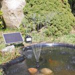 CLGarden nkasp2Pompe solaire pompe de bassin avec LED et batterie de la marque CLGarden image 2 produit