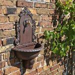 CLGarden WB1 Fontaine Murale de au design nostalgique Pompe à eau fontaine de jardin avec lavabo de la marque CLGarden image 1 produit