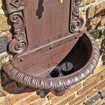 CLGarden WB1 Fontaine Murale de au design nostalgique Pompe à eau fontaine de jardin avec lavabo de la marque CLGarden image 3 produit