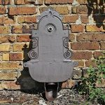 CLGarden WB1 Fontaine Murale de au design nostalgique Pompe à eau fontaine de jardin avec lavabo de la marque CLGarden image 4 produit