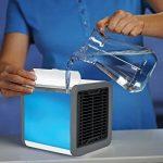 Climatiseur Portable - LoiStu Ventilateur USB Muitifonction 3 EN 1 Mini Climatiseur Humidificateur Purificateur 7 LED Couleurs pour Maison/Bureau/Camping Puissance de la marque LoiStu image 3 produit