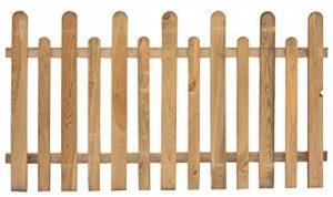 Clôture Clôture Clôture 2pz en bois de pin anglais imprégné 175x 100h cm jardin de la marque Salone-negozio-online image 0 produit