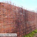 clôture jardin bois tresse TOP 0 image 2 produit