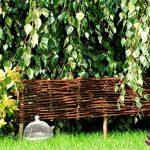 clôture jardin bois tresse TOP 3 image 4 produit