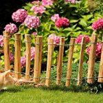 clôture jardin bois tresse TOP 5 image 2 produit