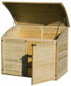 Coffre de rangement pour le jardin en bois TOPAZE 1000 L de la marque Chalet et jardin image 0 produit