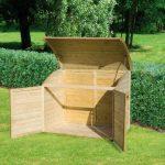 Coffre de rangement pour le jardin en bois TOPAZE 1000 L de la marque Chalet et jardin image 1 produit