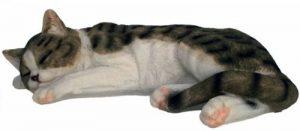 colourliving Décoration Figurine de chat tigré pour la maison ou le jardin de la marque colourliving image 0 produit