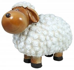 colourliving 'Figurine de mouton FRIDA Décoration Nature non seulement pour le jardin de la marque colourliving image 0 produit