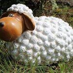colourliving 'Figurine de mouton FRIDA Décoration Nature non seulement pour le jardin de la marque colourliving image 4 produit