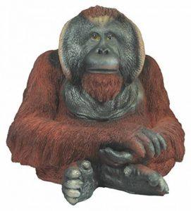 colourliving 'Figurine orang-outan Grégoire Singe singe de l'homme primates Jardin Figurine animaux décoration de la marque colourliving image 0 produit