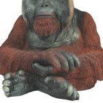 colourliving 'Figurine orang-outan Grégoire Singe singe de l'homme primates Jardin Figurine animaux décoration de la marque colourliving image 4 produit