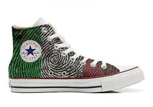 Converse All Star chaussures coutume mixte adulte (produit artisanal) drapeau américain (USA) de la marque Make Your Shoes image 0 produit