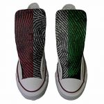 Converse All Star chaussures coutume mixte adulte (produit artisanal) drapeau américain (USA) de la marque Make Your Shoes image 1 produit