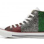 Converse All Star chaussures coutume mixte adulte (produit artisanal) drapeau américain (USA) de la marque Make Your Shoes image 2 produit