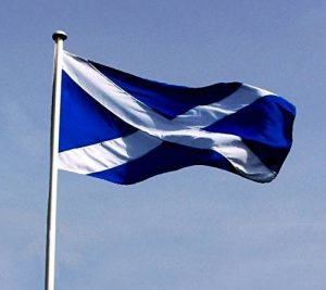 Écosse–St. Andrews–Croix Saint André écossaise drapeau écossais–drapeau de supporter–5m x 3m (90x 150cm)–QUALITÉ SUPÉRIEURE en nylon de qualité supérieure–Pas moins cher/Polyester inférieure de la marque BZB image 0 produit