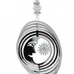 Couleur argent Métal Astral à vent Mobile de la marque Stock4u image 2 produit