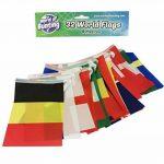 Coupe du monde de football fanions tous les 32équipes Russie 2018Football Bannière drapeaux Tissu 9m de la marque World of Bunting image 1 produit