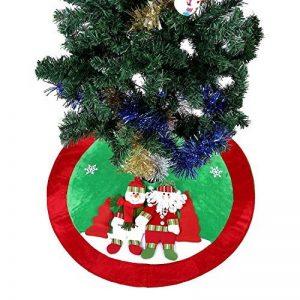 [Couvre-Pied de Sapin] Ohuhu® 89cm Jupe de l'arbre/Cache Pied Jupe/Couvre-Pied de Sapin/ Cache Pied Sapin de Motif Noël Père Noël et Renne pour Décoration de Noël de la marque Ohuhu image 0 produit