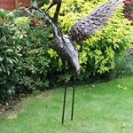 Creekwood 48063Grande Grue Oiseau Statue Ornement 103cm Height-wings Up, Bronze, 57x 99x 103cm de la marque Creekwood image 3 produit