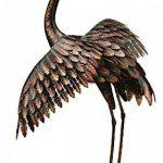Creekwood 48064Grande Grue Oiseau Statue Ornement 113cm Height-wings vers le bas, Bronze, 53x 94x 113cm de la marque Creekwood image 1 produit
