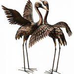 Creekwood 48064Grande Grue Oiseau Statue Ornement 113cm Height-wings vers le bas, Bronze, 53x 94x 113cm de la marque Creekwood image 4 produit