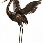 Creekwood 48065Grue Oiseau Statue Ornement 64cm Height-wings Up, Bronze, 27x 45x 64cm de la marque Creekwood image 1 produit