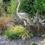 Creekwood 48067Grue Oiseau Statue Ornement 107cm de hauteur, Argent, 15x 49x 107cm de la marque Creekwood image 1 produit