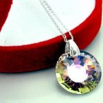 Crystals & Stones * Sun * soleil * Vitrail Light * Bijoux de boucles d'oreilles et Collier avec cristaux Swarovski - magnifiques Bijoux avec élégant femme boite cadeau de la marque Crystals&Stones image 1 produit