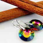 Crystals & Stones *Sun* soleil *Vitrail Medium* Bijoux de boucles d'oreilles et Collier avec cristaux Swarovski - magnifiques Bijoux avec élégant boîte à cadeau de la marque Crystals&Stones image 1 produit
