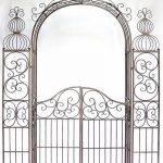 DanDiBo Ambiente 120853 Arche à roses en fer forgé avec portail 265 x 190 cm de la marque DanDiBo Ambiente image 3 produit