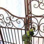 DanDiBo Ambiente 120853 Arche à roses en fer forgé avec portail 265 x 190 cm de la marque DanDiBo Ambiente image 1 produit