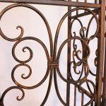 DanDiBo Ambiente 120853 Arche à roses en fer forgé avec portail 265 x 190 cm de la marque DanDiBo Ambiente image 2 produit