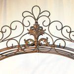 DanDiBo Ambiente 120853 Arche à roses en fer forgé avec portail 265 x 190 cm de la marque DanDiBo Ambiente image 4 produit